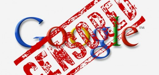google-censura
