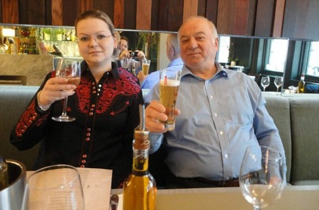 Sergey and Yulia Skripal.