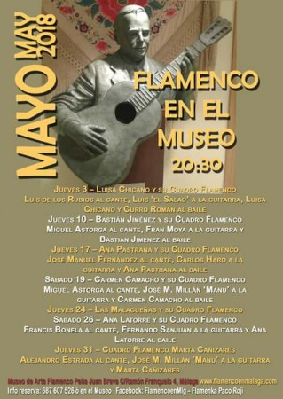 Málaga: Flamenco en el Museo Juan Breva