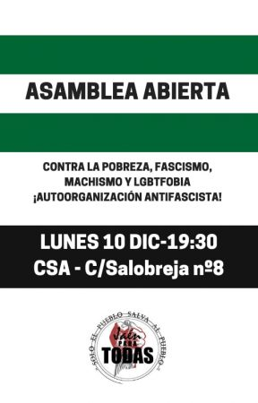 Jaén: asamblea antifascista