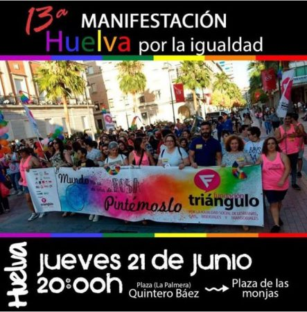Huelva: Manifestación LGTBI por la igualdad