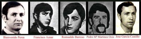 40 aniversario 3 de marzo muertos