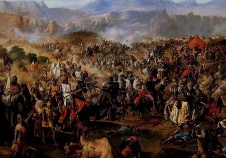 Derrota andaluza en la batalla de Al-Uqab