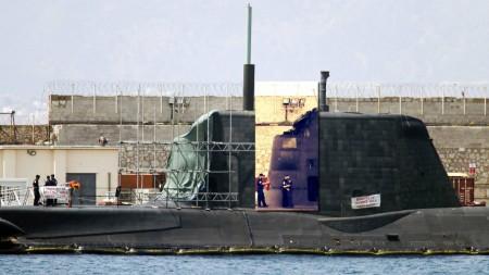 submarino HMS Ambush 1