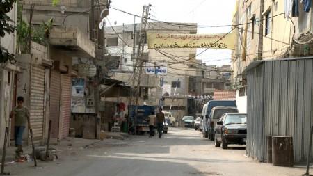 palestinos líbano