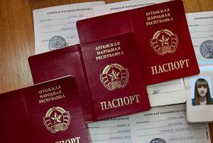 pasaportes donbass