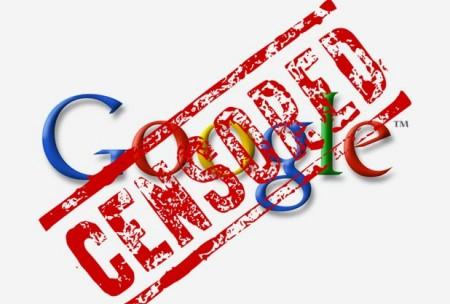 google-censura