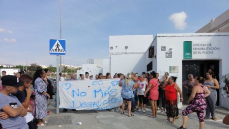 Almería Concentracion-Oficina-Rehabilitacion-Puche