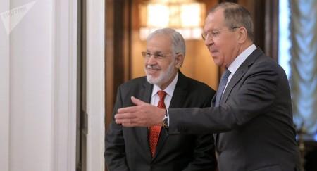 Libia Rusia - Siala con Laurov