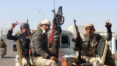 milicianos independentistas yemen sur
