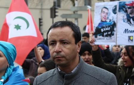 Abogado de presos rifeños durante manifestación de París