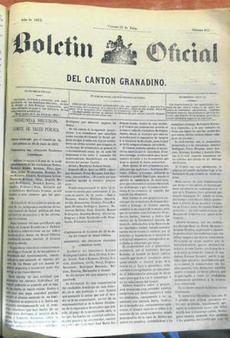Proclamación del Cantón de Granada