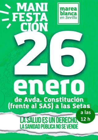 Sevilla: Manifestación por la sanidad pública