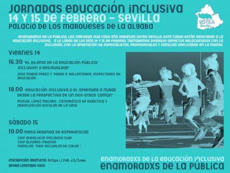 Sevilla: Jornadas de educación inclusiva