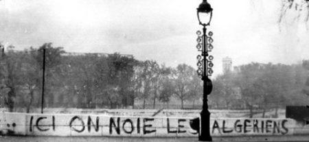 Masacre de argelinos en Paris