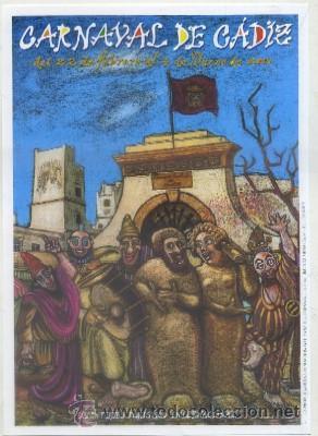 Cartel de Jose María Sánchez Casas que ganó el concurso en 2001.