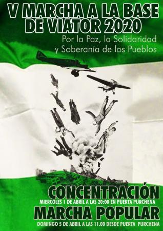 Almería: V marcha a la base de Viator