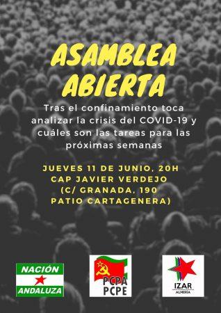 Almería: Asamblea abierta