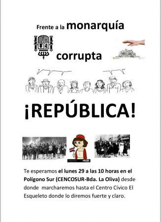 """Sevilla: Marcha """"recibimiento"""" a Felipe VI"""