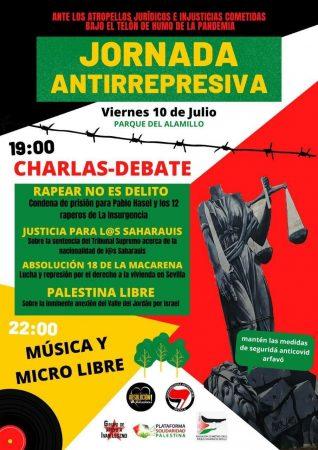 Sevilla: Jornada antirrepresiva