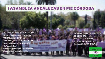 """Córdoba: Asamblea """"Andaluzas en Pie"""""""