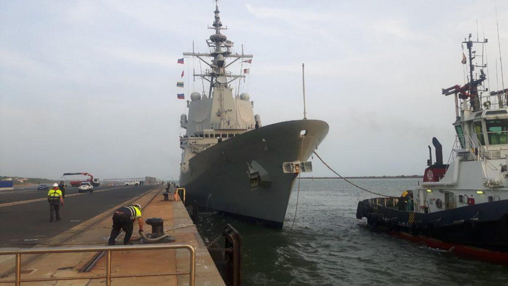 Maniobras militares en el golfo de Cádiz