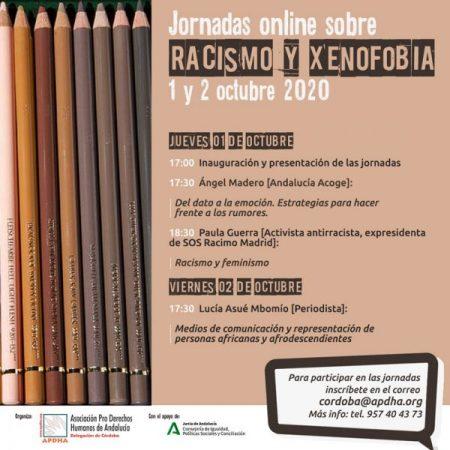 APDHA Córdoba analiza en unas jornadas el racismo y la xenofobia