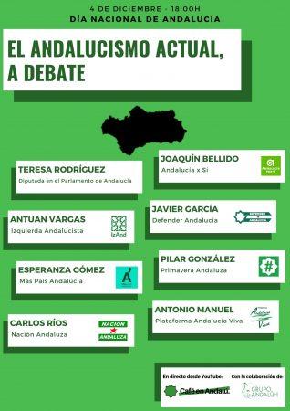 "Mesa redonda ""El andalucismo actual, a debate"""
