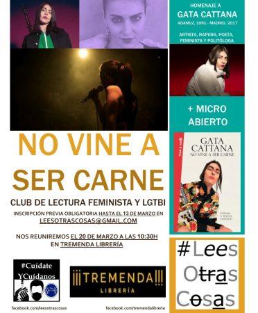 Granada: Homenaje a Gata Cattana