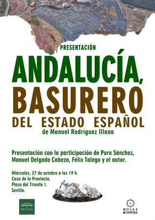 """Sevilla: Presentación del libro """"Andalucía, basurero del Estado español"""""""